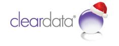 cleardata uk data entry christmas logo